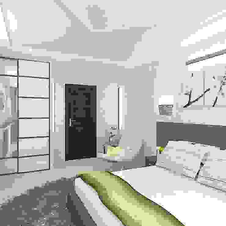 Коттедж в поселке Сепыч Спальня в эклектичном стиле от Design Rules Эклектичный