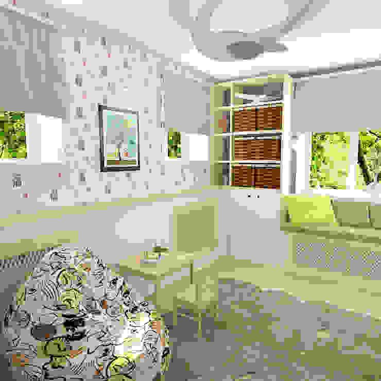 Chambre d'enfant originale par Design Rules Éclectique