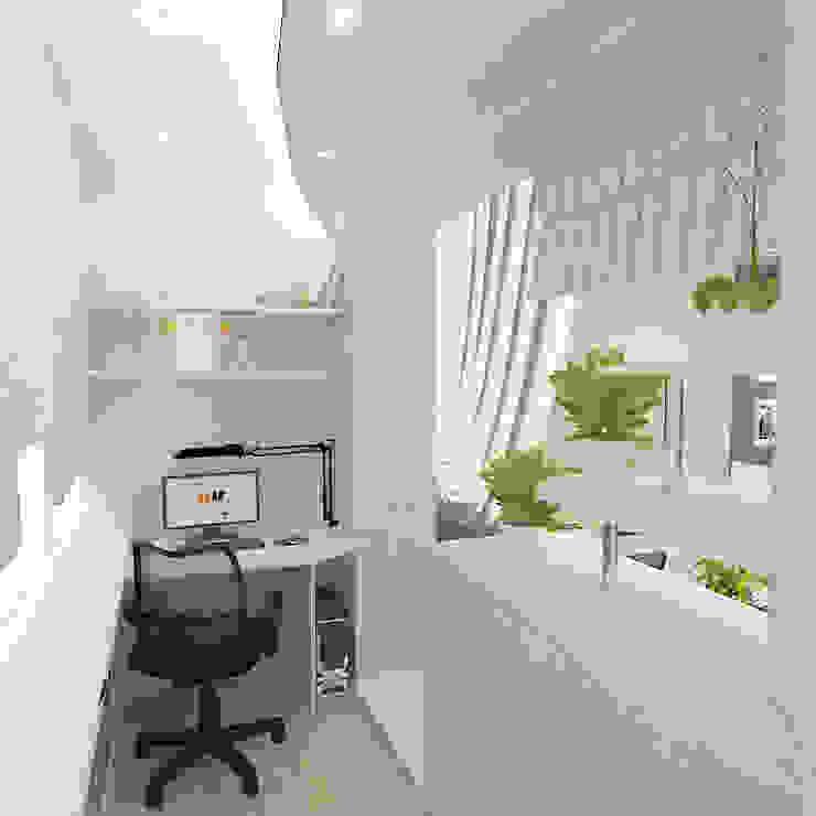 Трехкомнатная квартира Бассейны в эклектичном стиле от Design Rules Эклектичный