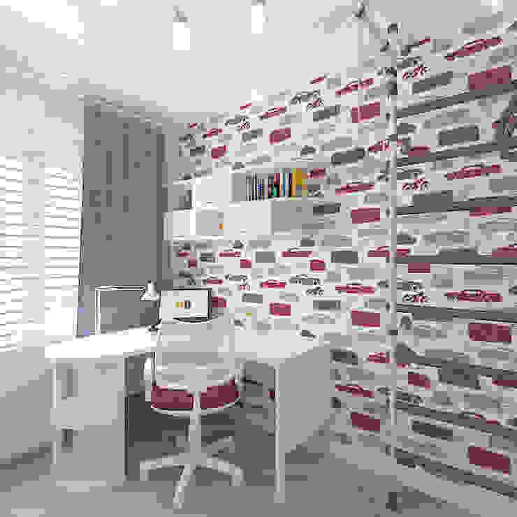 Трехкомнатная квартира Детские комната в эклектичном стиле от Design Rules Эклектичный