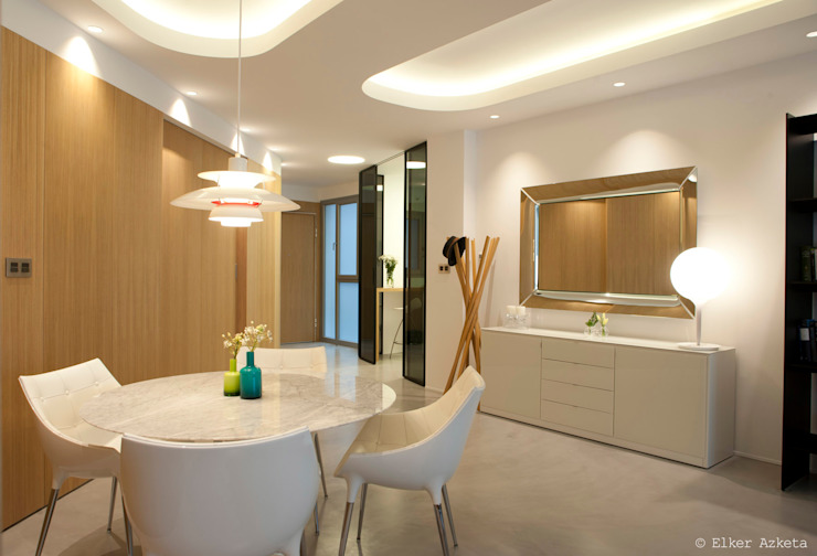 Modern dining room by MADG Architect Modern