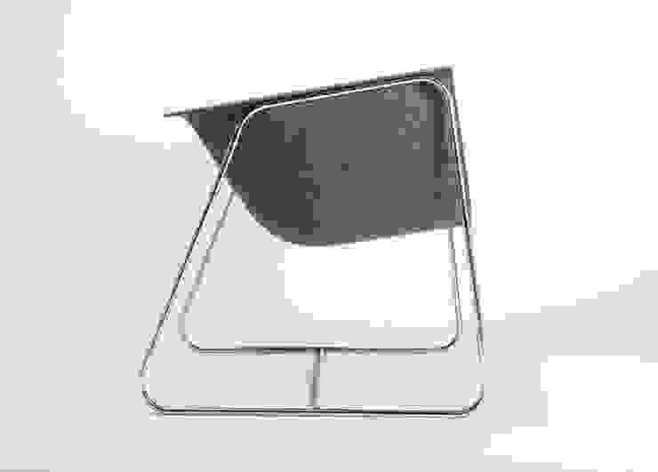 the tubh chair de Jorge Arbelo Minimalista Metal