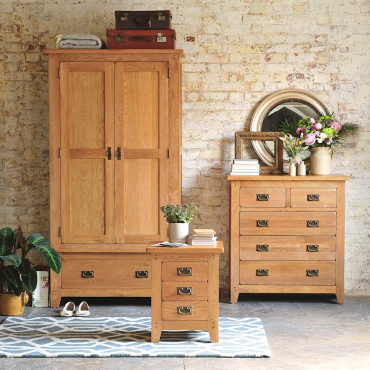 Oakland Bedroom Collection by The Cotswold Company Country لکڑی Wood effect