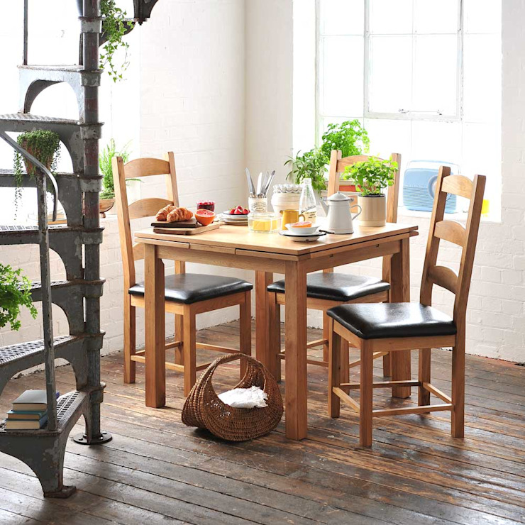 AW15 Country style dining room by The Cotswold Company Country Wood Wood effect