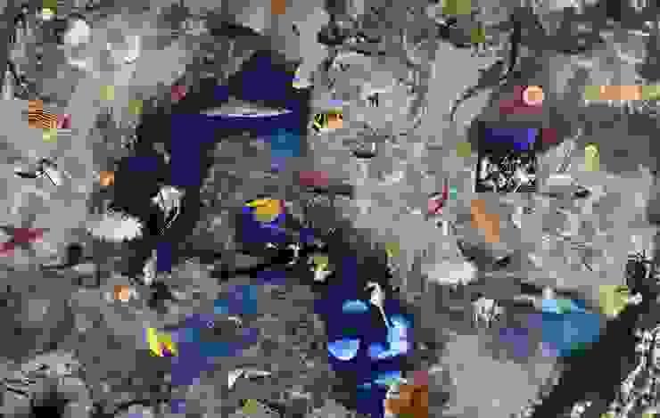 Treasure Underwater Vinyl Flooring от Blue Butterfly Flooring Средиземноморский