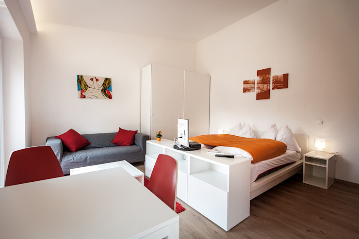 Phòng ngủ by Florian Schober Architektur ZT