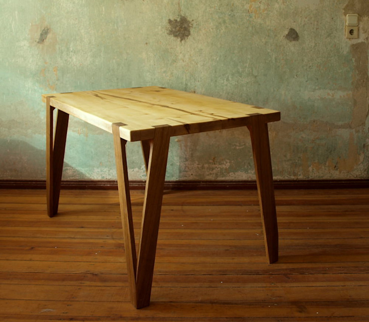 de Holzarbeiten André Findeisen Moderno Madera Acabado en madera