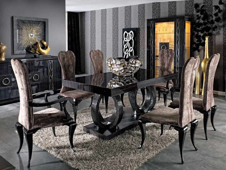 GLAMOUR LORCA Colonial style living room