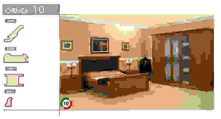 Спальня в стиле модерн от armoni yapı Модерн