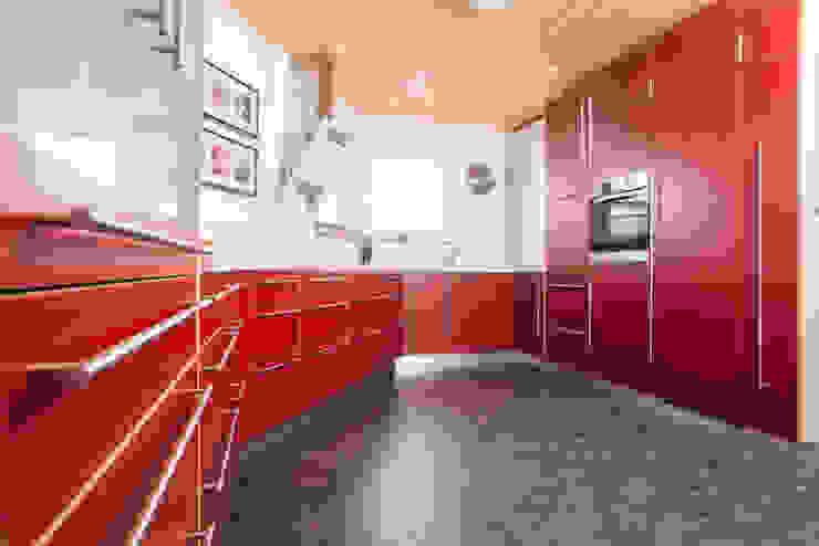 Projekty,  Kuchnia zaprojektowane przez Schreinerei Mayle, Nowoczesny