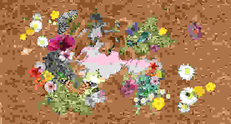 Furry Beasts Door Mat par Blue Butterfly Flooring Rural