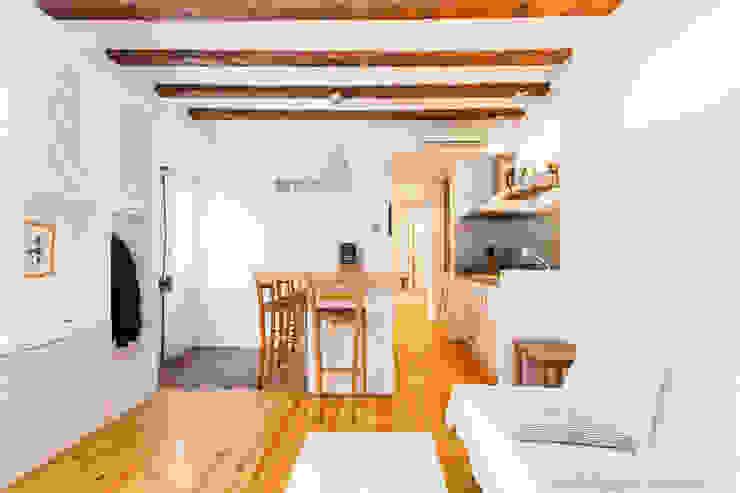 Fotografia de interiores arquitectura Estudios y despachos de estilo minimalista de Davide Pellegrini Fotógrafo Minimalista