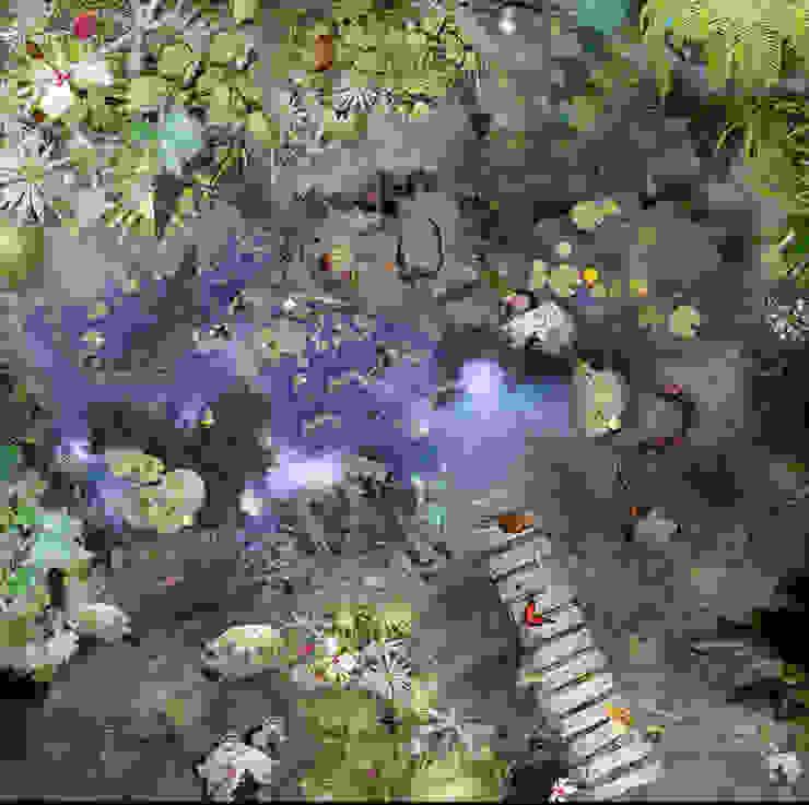 Jungle par Blue Butterfly Flooring Rural