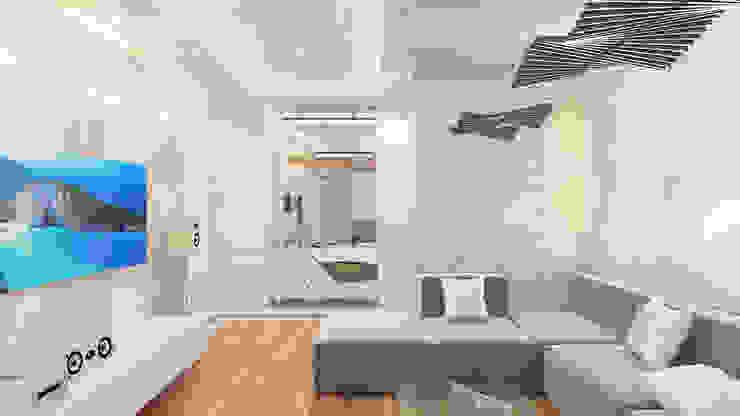 Minimalist living room by homify Minimalist