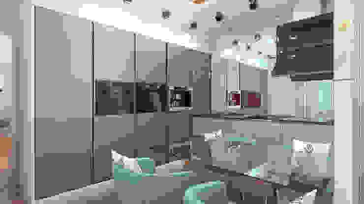 кухня Кухня в стиле минимализм от homify Минимализм
