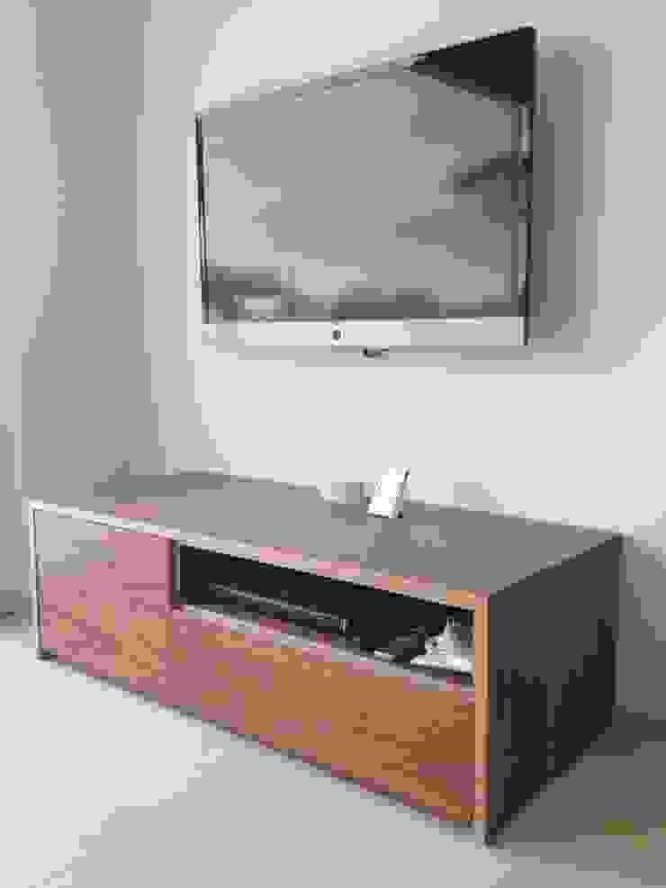 Modern Living Room by Schreinerei Mayle Modern