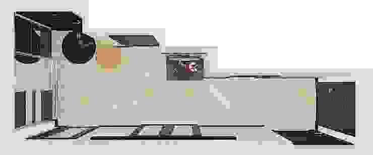 Квартира в жилом комплексе <q>Алиса</q> Коридор, прихожая и лестница в эклектичном стиле от Design Rules Эклектичный