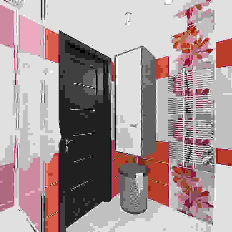 Квартира в жилом комплексе <q>Алиса</q> Ванная комната в эклектичном стиле от Design Rules Эклектичный