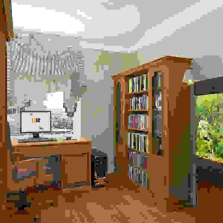 Пятикомнатная квартира в элитном жилом комплексе Рабочий кабинет в классическом стиле от Design Rules Классический