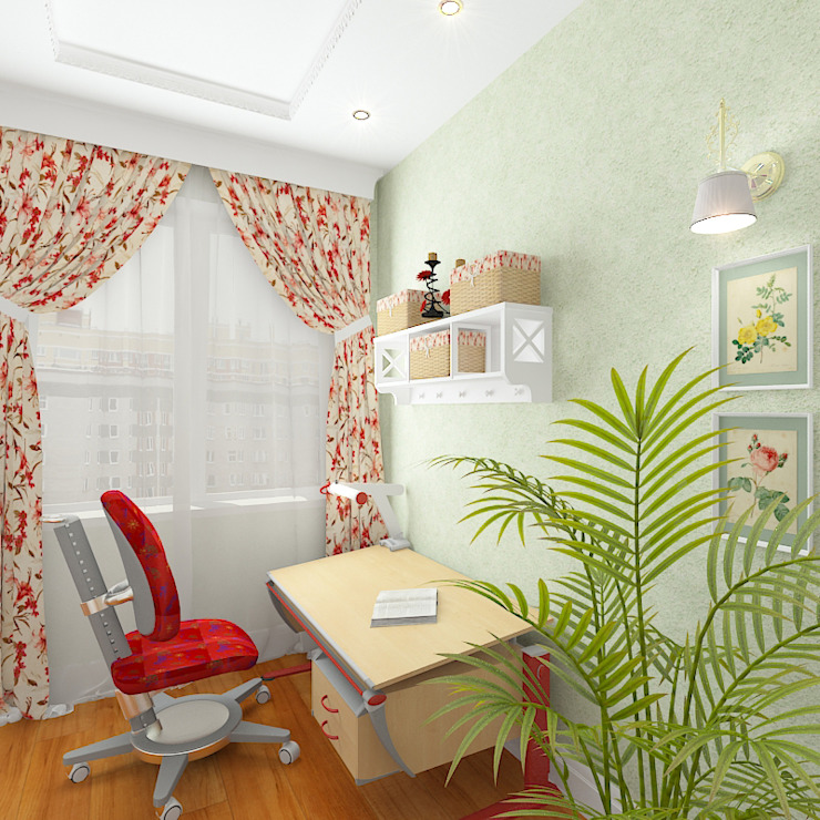 Пятикомнатная квартира в элитном жилом комплексе Детская комнатa в классическом стиле от Design Rules Классический