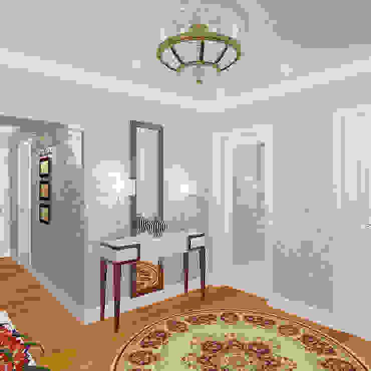 Пятикомнатная квартира в элитном жилом комплексе Коридор, прихожая и лестница в классическом стиле от Design Rules Классический