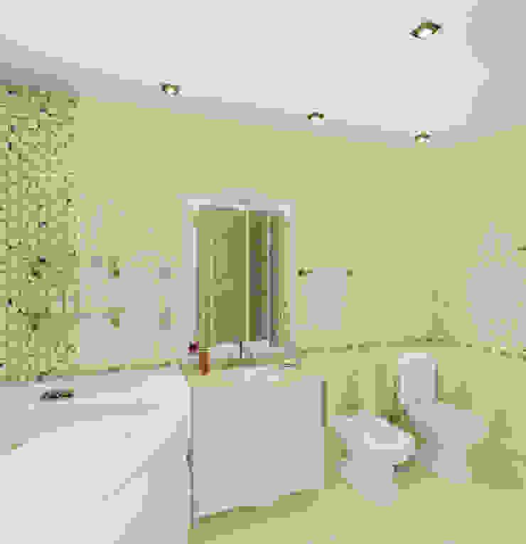 Пятикомнатная квартира в элитном жилом комплексе Ванная в классическом стиле от Design Rules Классический