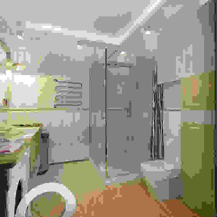 Коттедж в деревне Молчаны Ванная комната в стиле кантри от Design Rules Кантри