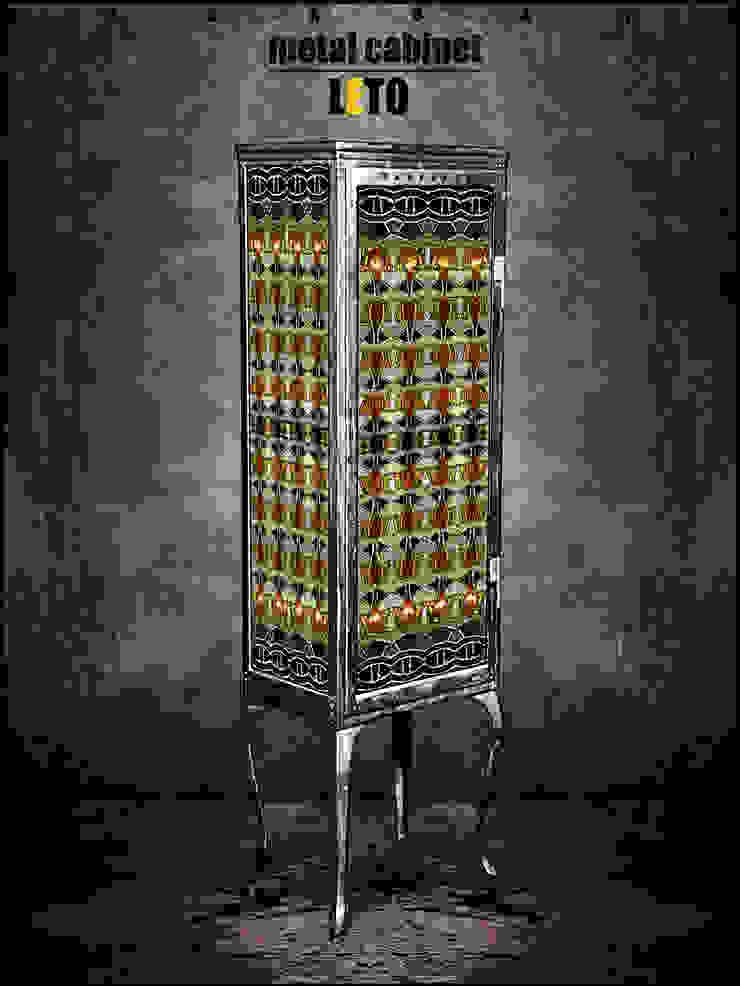 Металлический шкаф - LETO от KAGADATO Лофт
