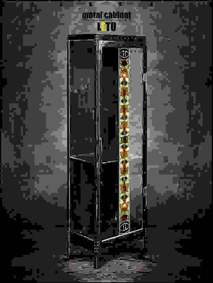 Металлический шкаф - LETO 2. от KAGADATO Лофт