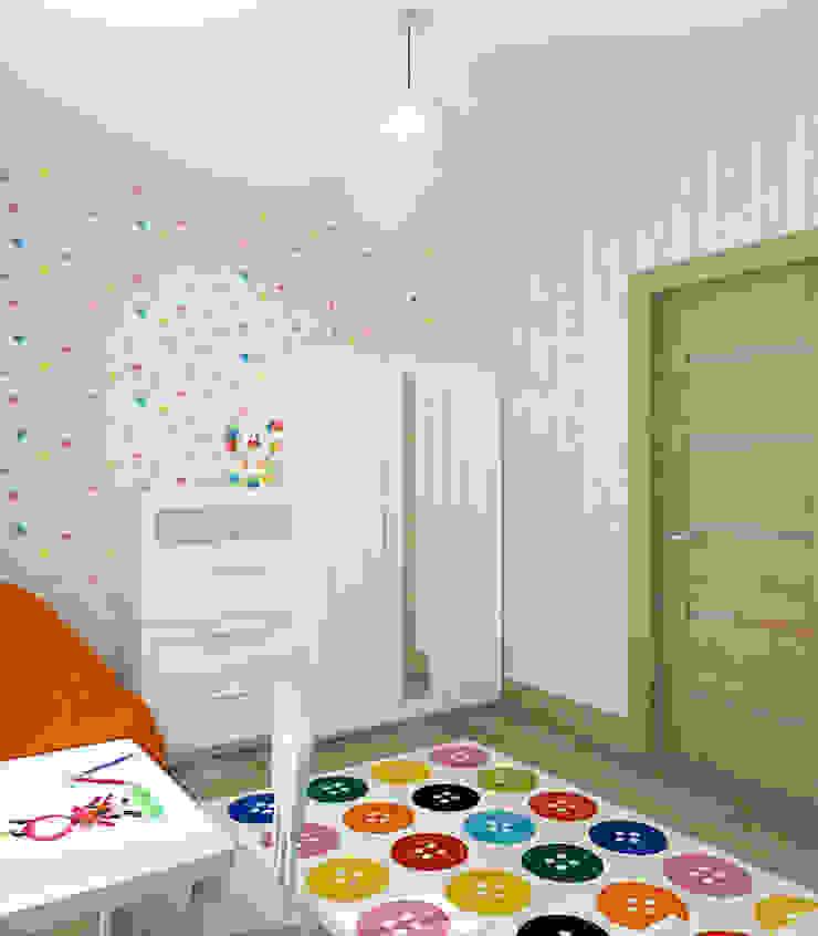 Коттедж в деревне Пирогово Детские комната в эклектичном стиле от Design Rules Эклектичный