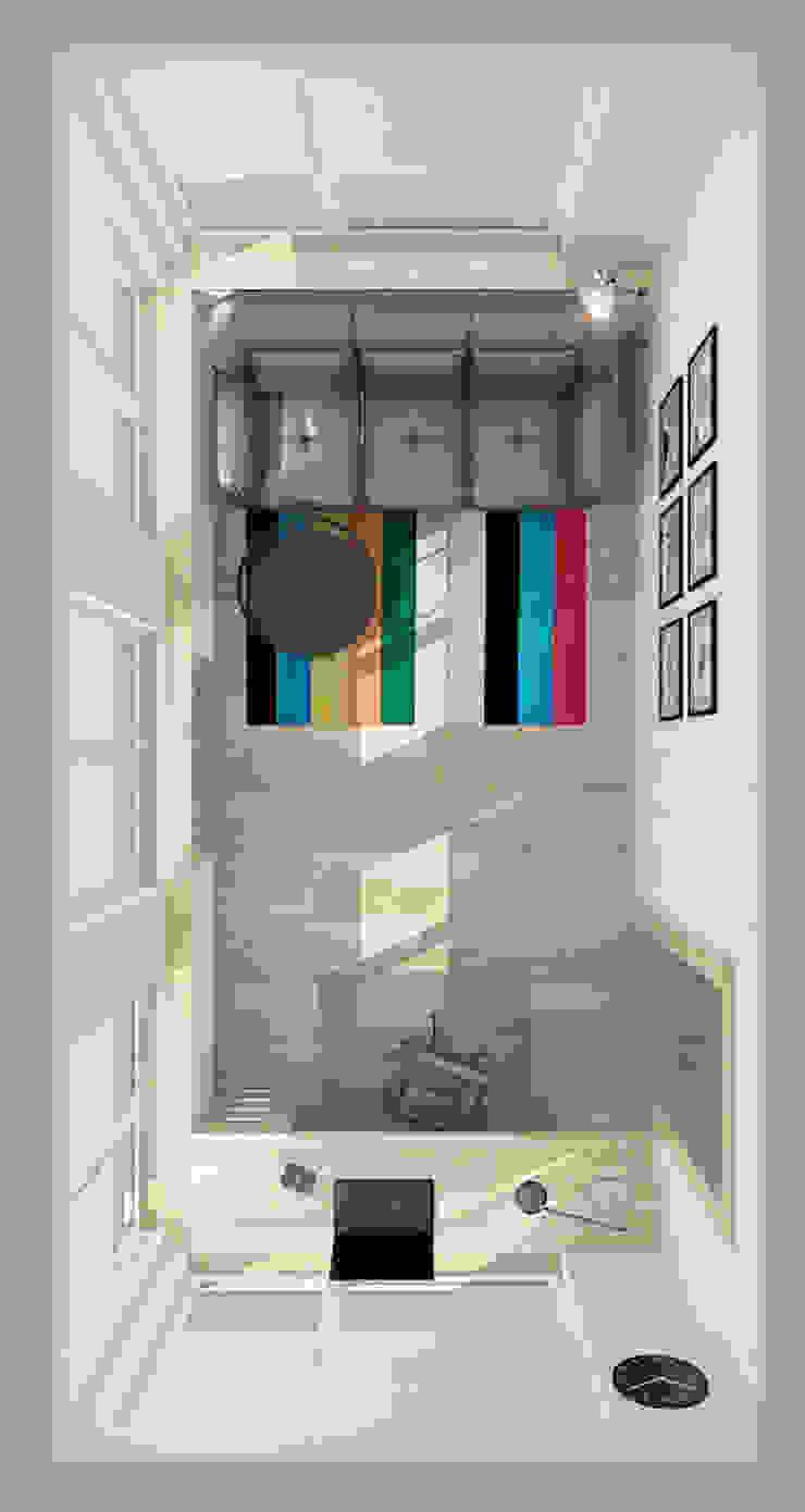 Коттедж в деревне Пирогово Рабочий кабинет в эклектичном стиле от Design Rules Эклектичный