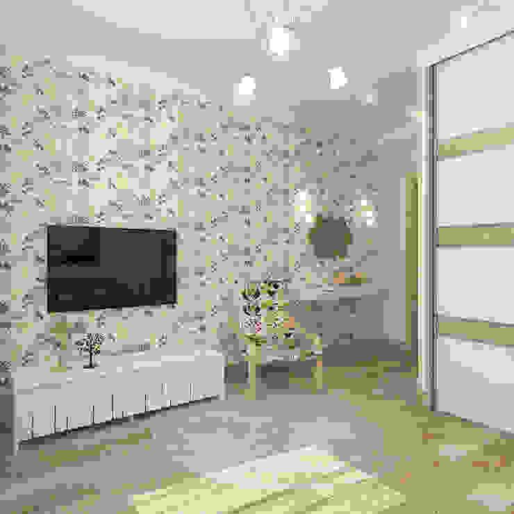 Коттедж в деревне Пирогово Спальня в эклектичном стиле от Design Rules Эклектичный