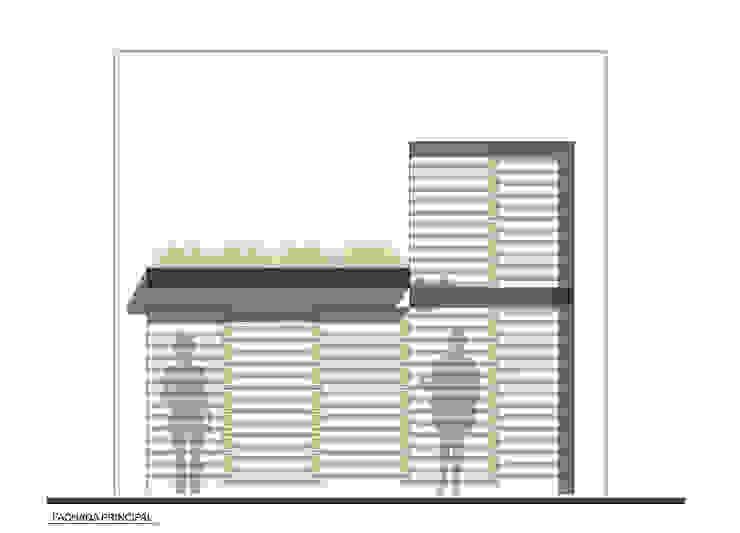 CASA TAR Casas modernas de ODRACIR Moderno