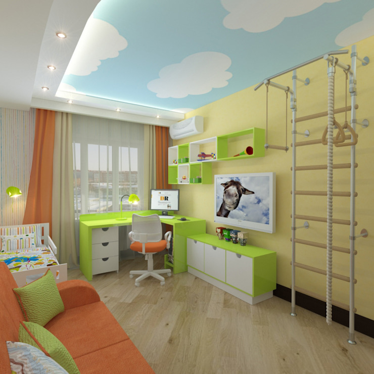 Design Rules Eclectic style nursery/kids room