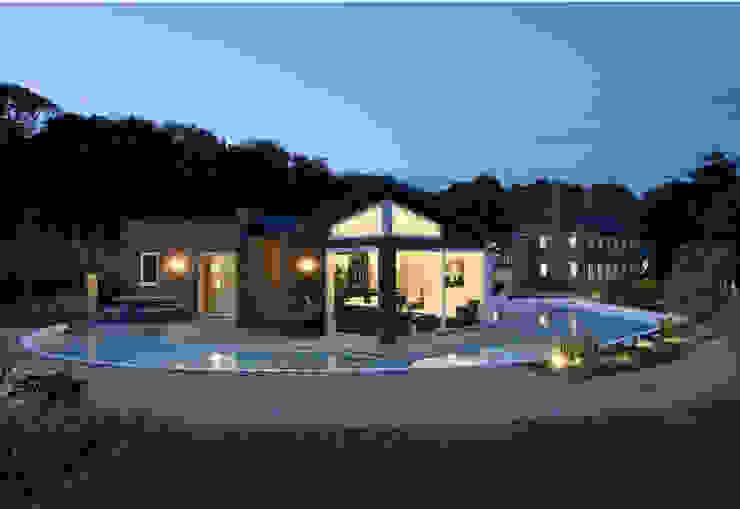 Lofties Nowoczesny basen od Rayner Davies Architects Nowoczesny