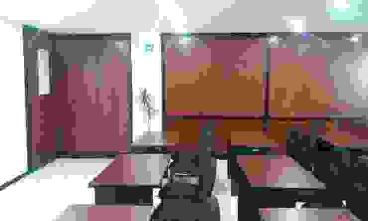 SALA DE JUNTAS CEDICOOP Salas multimedia modernas de ARQUITECTURA MB&A Moderno