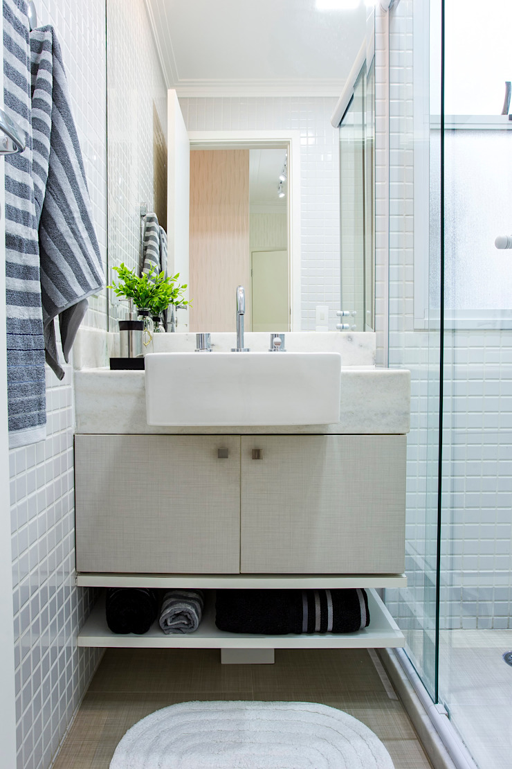 Amanda Pinheiro Design de interiores Modern bathroom