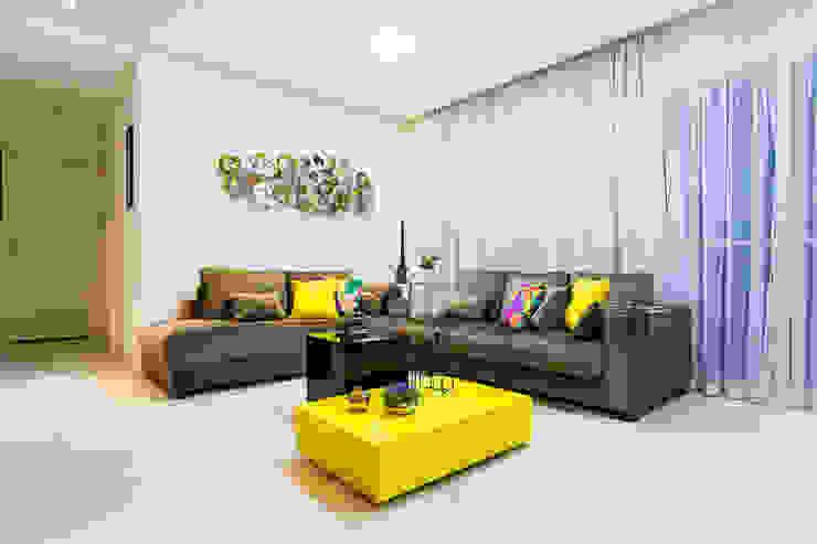 Amanda Pinheiro Design de interiores Modern living room