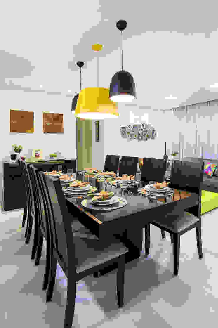 Amanda Pinheiro Design de interiores Modern dining room