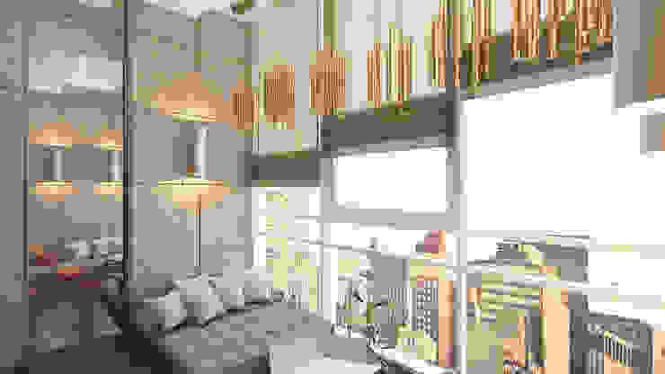 Чилл-аут Балкон и терраса в стиле минимализм от homify Минимализм