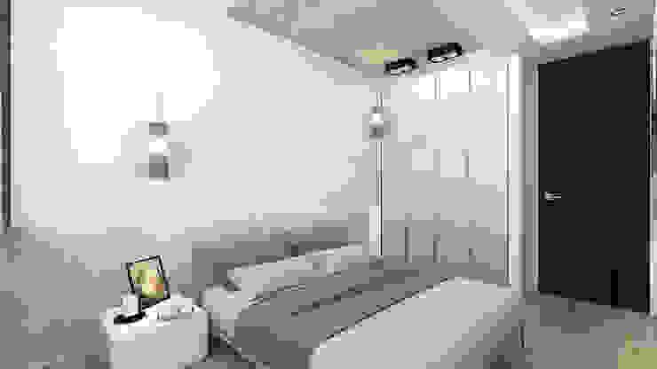 Спальня Спальня в стиле минимализм от homify Минимализм