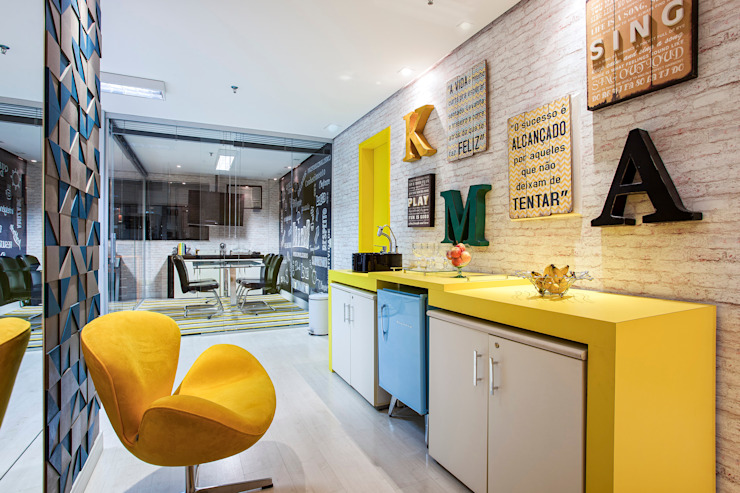 Modern commercial spaces by Amanda Pinheiro Design de interiores Modern