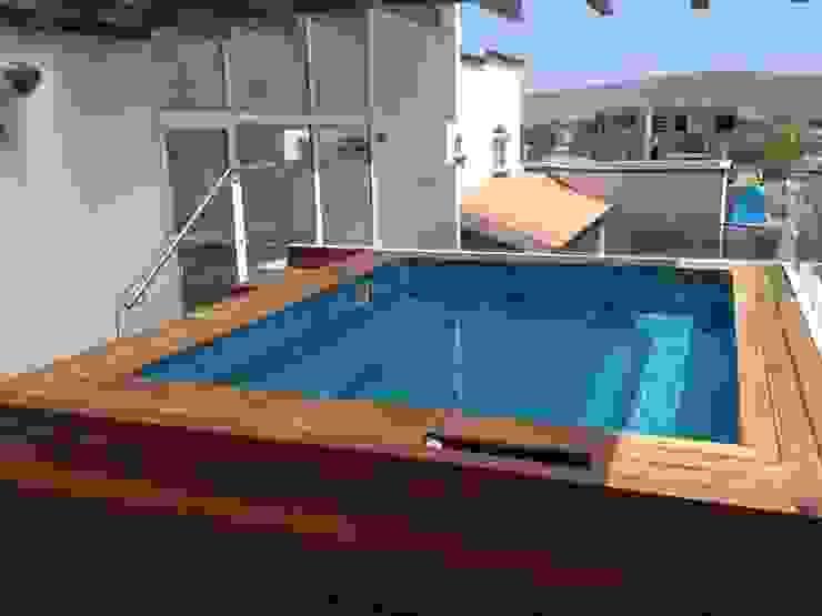 Yacuzi Spa modernos de SANTIAGO PARDO ARQUITECTO Moderno