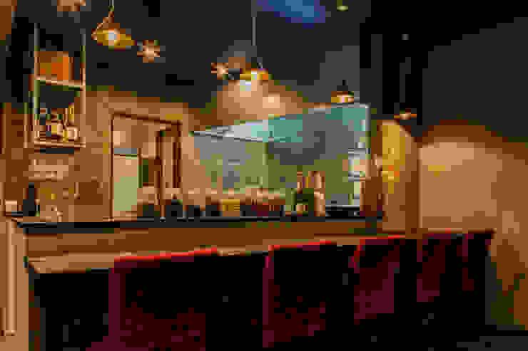 Hanabi Chinese Restaurant 和風の キッチン の Innovation Studio Okayama 和風