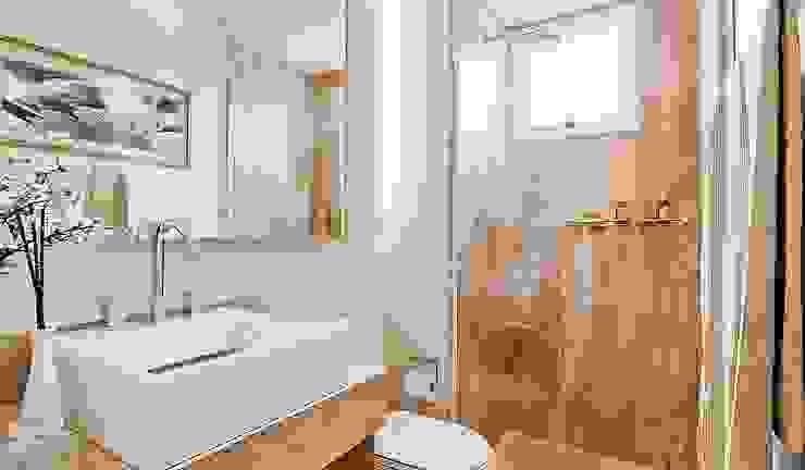 Salle de bain moderne par SESSO & DALANEZI Moderne