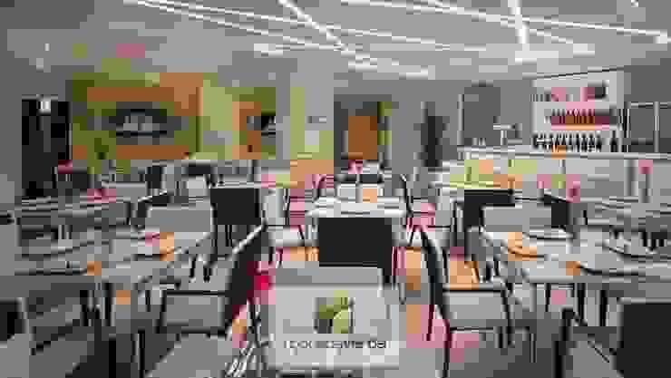 Minimalist dining room by Moradaverde Arquitetura Ltda. Minimalist