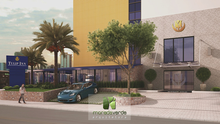 Jardines de estilo minimalista de Moradaverde Arquitetura Ltda. Minimalista