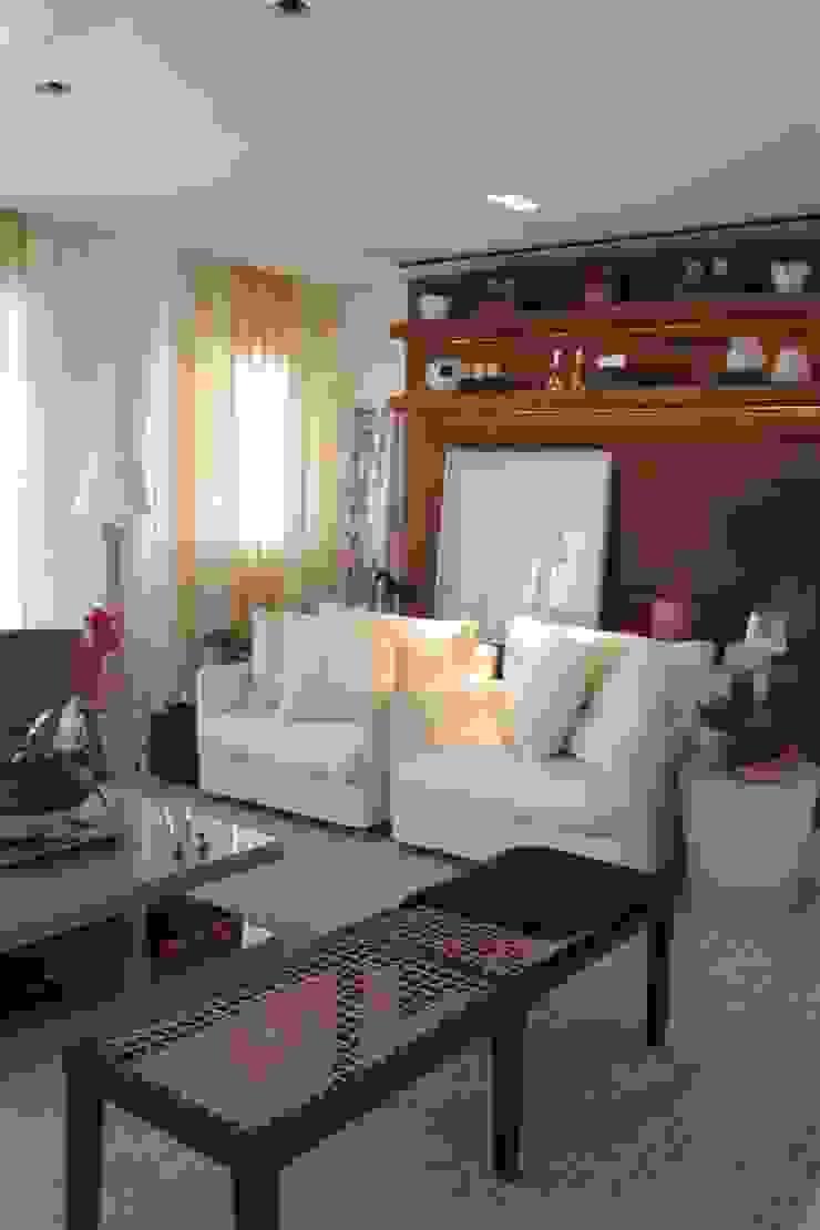 Poltronas - Apartamento São Paulo por Vaiano e Rossetto Arquitetura e Interiores Moderno