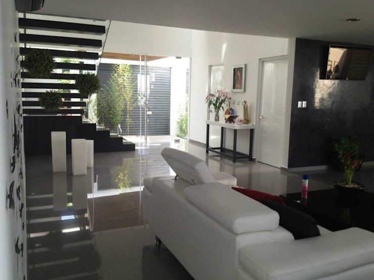 Sala Salones modernos de SANTIAGO PARDO ARQUITECTO Moderno