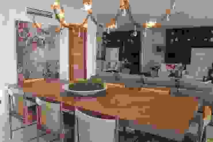 Detalhe Sala de Jantar Salas de jantar minimalistas por Vaiano e Rossetto Arquitetura e Interiores Minimalista